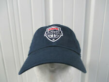 VINTAGE NIKE USA OLYMPIC BASKETBALL NATIONAL TEAM BLUE SEWN STRAPBACK HAT CAP