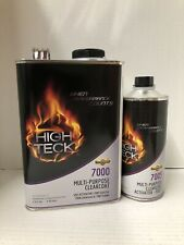 High Gloss Urethane Clear Coat Gallon Kit 4:1 With Fast Activator