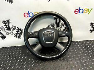 04-12 Audi A3 8P Multifunctional 4 Spoke Leather Steering Wheel GENUINE
