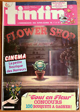 BD Comics Magazine Hebdo Journal Tintin No 24 42e 1987 Flower Shop