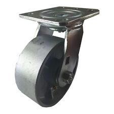 """5"""" x 2""""  Steel Wheel Caster - Swivel"""
