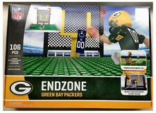 Green Bay Packers NFL 106 PEZZI Oyo FOOTBALL AMERICANO end zone Toy Figure Set