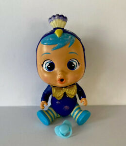RARE Cry Babies Magic Tears WANDY Peacock Fantasy Bottle Bird Golden VHTF!!!