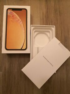 Scatola Apple IPhone XR 64gb Yellow