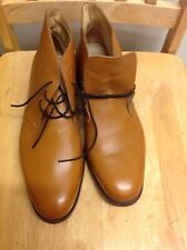 Samuel Windsor Mens Shoes Boots Brown Leather Lace Up  UK Sizes 10 USED.