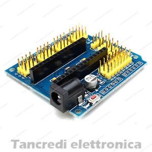 (Arduino-Compatibile) SCHEDA ESPANSIONE NANO V3.0 I/O Expansion Board UNO Shield
