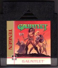 GAUNTLET BLACK TENGEN CART ORIGINAL SHOOTER NINTENDO GAME NES HQ