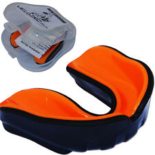 VELO Pro Gel Protège-dents Boxe MMA Junior Adulte Hockey Boite Orange