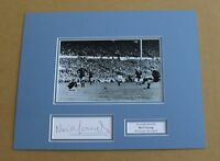 NEIL YOUNG IN MANCHESTER CITY SHIRT HAND SIGNED AUTOGRAPH PHOTO MOUNT + COA!