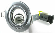 GU10 Tilt Downlight Ceiling Spotlight Lights Halogen or Led Suitable Mains 240V