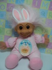 """Easter Bunny / Rabbit w/Hang Tag - 9"""" Soft Russ Troll Doll - New With Hang Tag"""