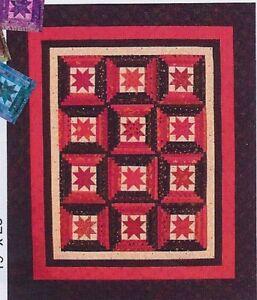 Star Steps paper foundation piecing quilt pattern