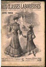 """CATALOGUE """" AUX CLASSES LABORIEUSES"""" ETE 1902"""