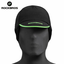 ROCKBROS Winter Cycling Hiking Running Windproof Warm Cap Hat Black One Size
