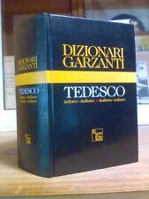 DIZIONARIO GARZANTI / TEDESCO - ITALIANO - TEDESCO - 1994