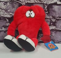 """NEW 1997 12"""" Looney Tunes GOSSAMER Red Play by Play WB Vintage Plush Toy Doll"""