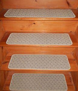 "13  STEP 9"" x 30"" 1 Landing 30"" X 30'' Premium Wilton Wool Carpet Stair Treads ."