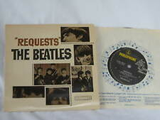 """Beatles Requests 7"""" Aussie 1964 EP Vinyl Record Long Tall Sally Little Richard"""