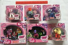 My Little Pony Power Ponies 8 Doll LOT Mane-iac Sparkle Rarity Pie Spike Dash +
