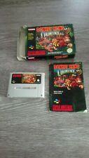 Donkey Kong Country 1 Boxed CIB Complet Super NES Nintendo SNES FAH / EUR