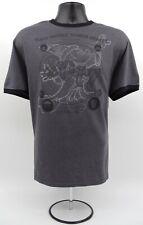 Euc! Walt Disney World Resort Ringer Dark Heather Grey 2017 T-Shirt Mens Size Xl