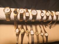 Vintage Silver/Gold Tone Watch for Ladies - See - Sekonda,Pulsar,Accurist,etc.