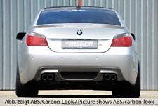 Rieger CUP Diffusor für 5er BMW E60 E61 M-Tech M-Paket Heckansatz DER Li + Re