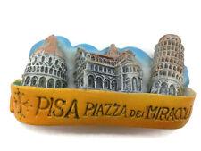 Leaning Tower of Pisa Italy High Quality Resin 3d Fridge Magnet Souvenir 093