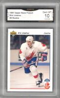 1991-92 Upper Deck #9 Eric Lindros CC | Graded GEM MINT 10