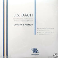 NEW 180g 2LP - MARTZY / Bach Sonata & Partita No.2/ UK COUP d'ARCHET, COUP 018