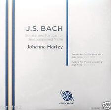 JOHANNA MARTZY - 2LP / Bach Sonata & Partita No.2 / UK COUP d'ARCHET, COUP 018