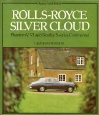 ROLLS ROYCE SILVER CLOUD BOOK BENTLEY S CONTINENTAL S1 S1 S3 PHANTOM V VI ROBSON