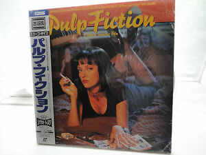 Pulp Fiction Film Laserdisc Japan Version Widescreen MINT