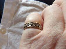 Wedding Ring White Gold Vintage Fine Jewellery