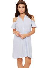 Vestiti da donna blu corto, mini taglia 42