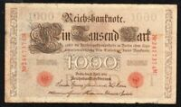 1910 GERMANY 1,000 mark DM P-44b circulated