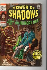 TOWER OF SHADOWS # 2 /  MARVEL 1969 / FINE / HECK / BUSCEMA / NEAL ADAMS.