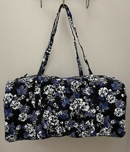 Vera Bradley FROSTED FLORAL Large Travel Duffel Bag Tote Luggage - NEW $109