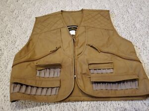 Gamehide Hunter's Brown Front- Loader Canvas Duck Hunting Vest Style #300 Sz 2XL