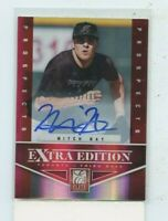 MITCH NAY  2012 Panini Elite Extra Edition Prospects Auto Autograph #D /799