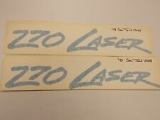 "POWERQUEST 270 LASER DECAL PAIR (2) '98 SEA TEAL 13 1/8"" X 2 1/8"" MARINE BOAT"