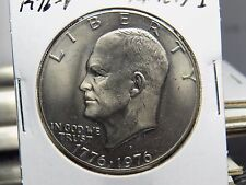 1976-D Variety 1 Eisenhower Dollar (Album Pieces)