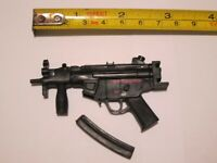 """1/6 Scale MP5 Submachine Gun for 12"""" Action figure"""