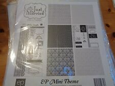 "SALE New Echo Park 12""x12"" Mini Theme Just Married"