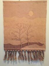 Mid Century Jute Wall Tapestry