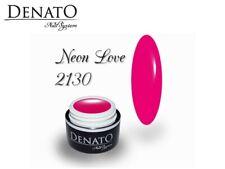 Neon Love 5ml UV LED Gel Nails File Off Colour Gel Perfect Pigmentation Denato