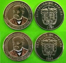Panama coins new issue 1/4 Balboa 2017-18 (2019) Bicentenary Dr. Justo Arose 2pc