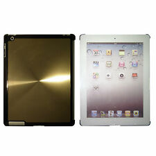 iPad 3 Gold Quality Shining Aluminium Hard Back Case Cover for Elegant Look