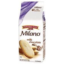 NEW PEPPERIDGE FARM MILANO MILK CHOCOLATE COOKIES 6 OZ FREE WORLDWIDE SHPPING