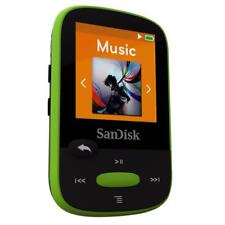SanDisk Sansa Clip+ Sport LIME 8GB Digital Media Player MP3 LCD Radio Micro SD